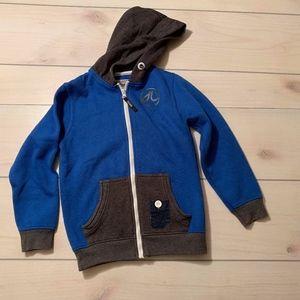 Other - boys 7 8 full zip hooded sweatshirt DL project 86